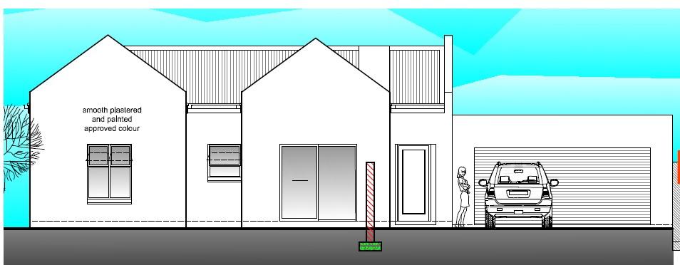Plan E (3 bed, 2 bath, 2 garage)